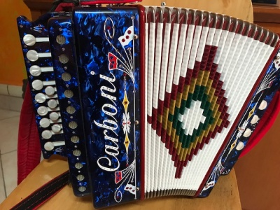 Diatonic Accordion Carboni 4b