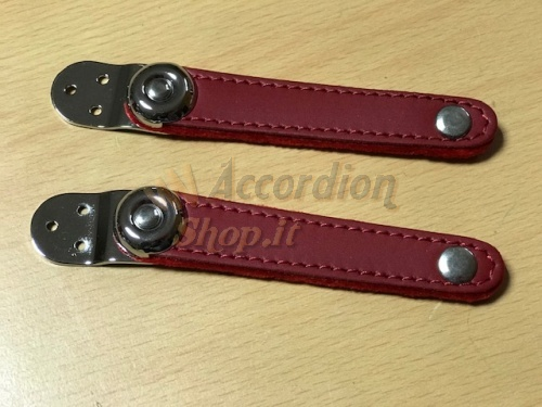bellows straps  red